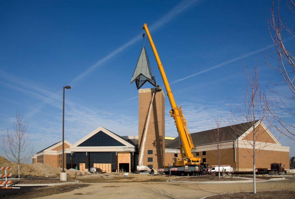 construction site horizontal
