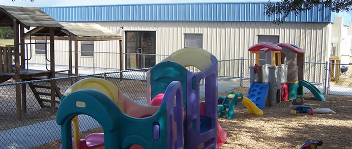Daycare Modular Building with Playground