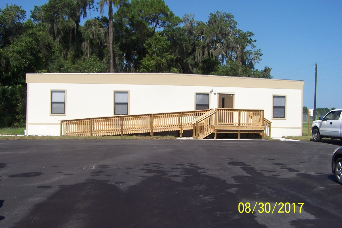 Exterior Of Modular Building From ABS10, Alternative Building Solutions