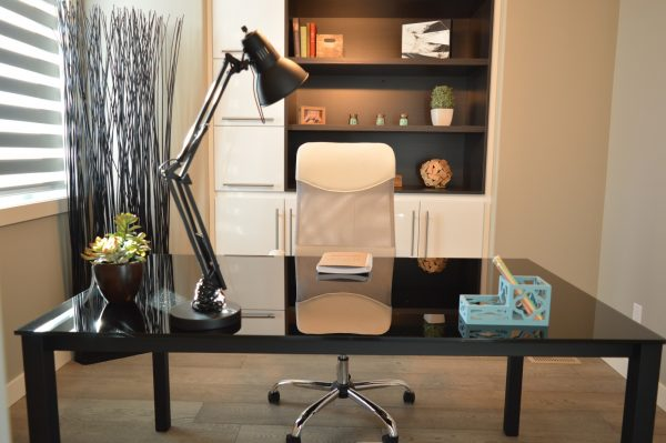 Startup Office Space - Chair, Desk And Lamp Included